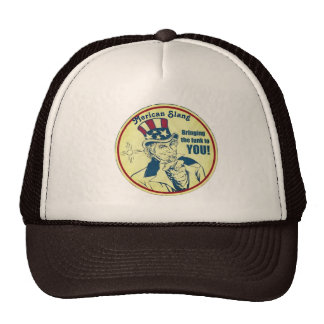 Old Merican Sam Trucker Cap