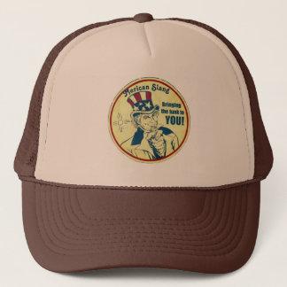 Old Merican Sam Trucker Trucker Hat