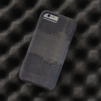 old Metal Surface with Big Scratches Tough iPhone 6 Case