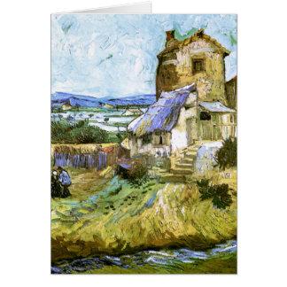 Old Mill Van Gogh Fine Art Note Card