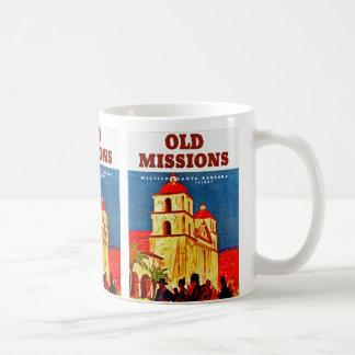 Old Missions ~ Santa Barbara Classic White Coffee Mug