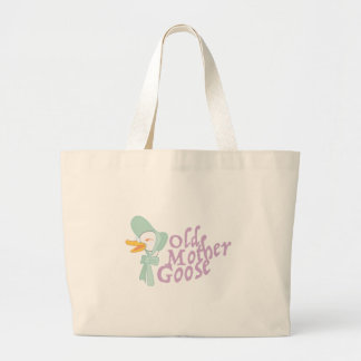 Old Mother Goose Jumbo Tote Bag