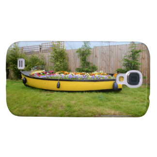 Old Motor Boat With Flowers HTC Vivid Covers