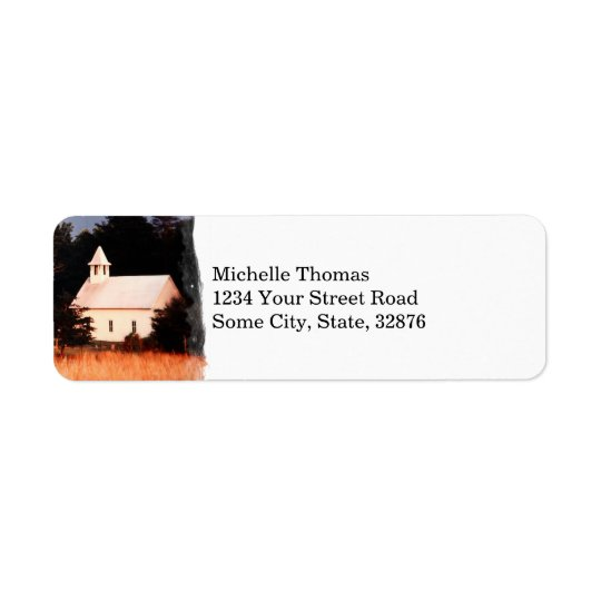 Old Mountain Church Return Address Return Address Label