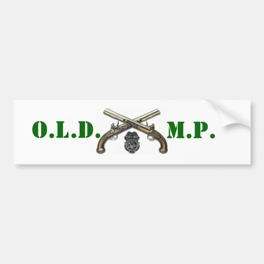 Old MP Bumper Sticker