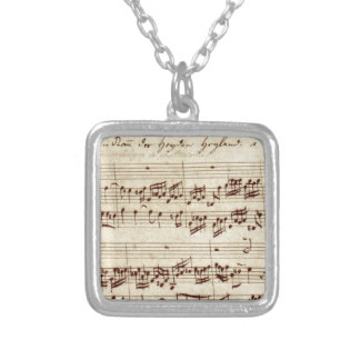 Old Music Notes - Bach Music Sheet Pendant