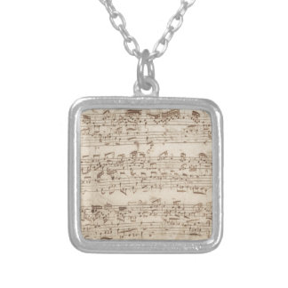 Old Music Notes - Bach Music Sheet Custom Jewelry