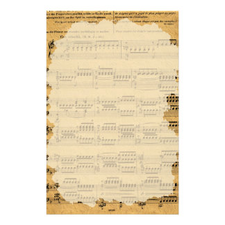 Music customized papers