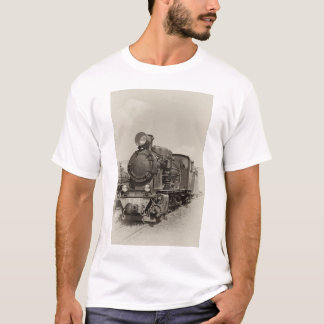 Old narrow-gauge steam engine Gr-269 T-Shirt