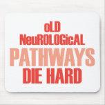 Old Neurological Pathways Die Hard Mousemat