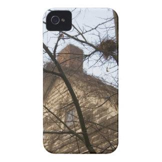 Old & New, Birds Nest & Farmhouse iPhone 4 Case