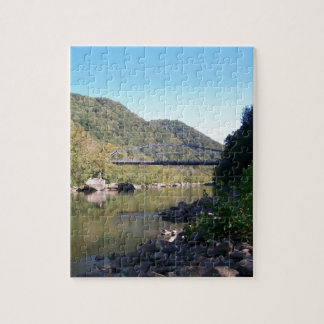 Old New River George Bridge Jigsaw Puzzle