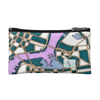 Old New York City, United States Makeup Bags
