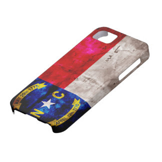Old North Carolina Flag; iPhone 5 Case