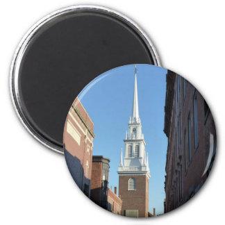 Old North Church 6 Cm Round Magnet