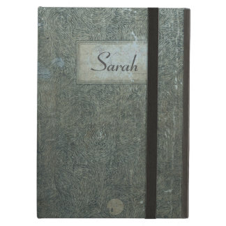 Old notebook real vintage shabby personalized case iPad air cases