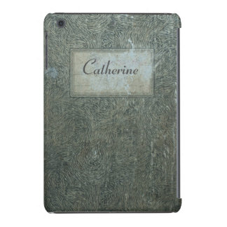 Old notebook real vintage shabby personalized case iPad mini retina cover
