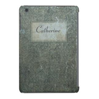 Old notebook vintage shabby personalized case iPad mini retina case