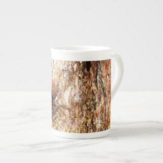 Old Oak Tree Bark Bone China Mug