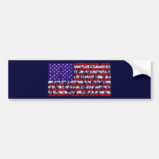 Old Old Glory Bumper Stickers
