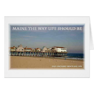 Old Orchard Beach Maine Cards