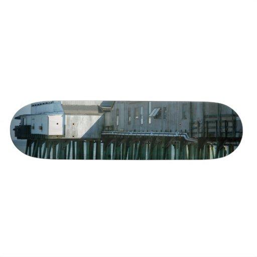 Old Orchard Beach Pier Custom Skateboard