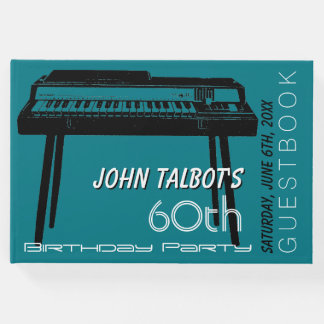 Old Organ 60th birthday Party Guest Book