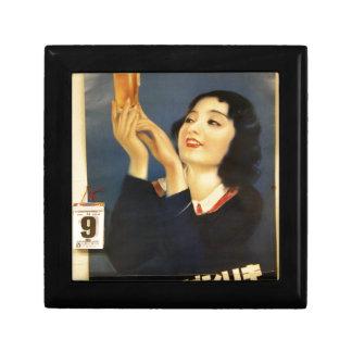 old original famous japan beer poster 1885 gift box