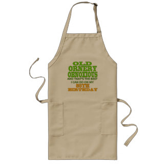 Old Ornery Obnoxious 85th Birthday Gifts Aprons