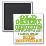Old Ornery Obnoxious 95th Birthday Gifts