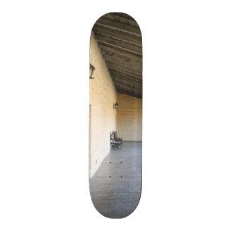 Old Outside Corridor Skateboard Deck