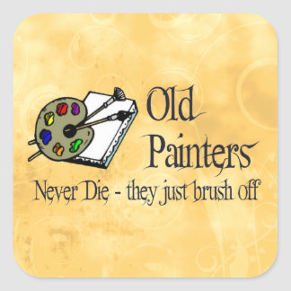 Old Painters Stickers