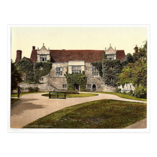 Old Palace, Maidstone, England magnificent Photoch Postcard