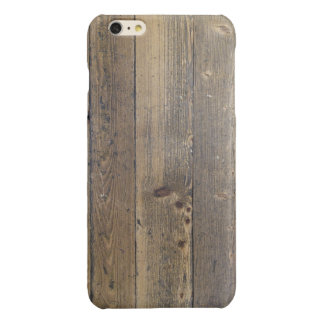 Old Panel Wood Woodgrain - Stylish Fun Wood Look iPhone 6 Plus Case