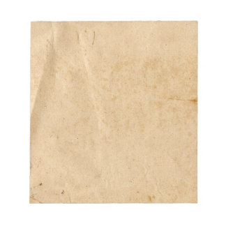 Old Paper Notepad