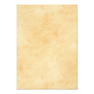 Old Parchment Background Stained Mottled Look 13 Cm X 18 Cm Invitation Card
