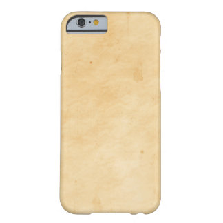 Old Parchment Background Stained Mottled Look Barely There iPhone 6 Case