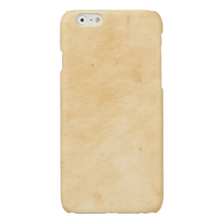 Old Parchment Background Stained Mottled Look iPhone 6 Plus Case