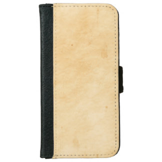 Old Parchment Background Stained Mottled Look iPhone 6 Wallet Case