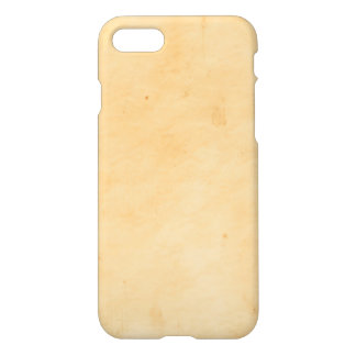 Old Parchment Background Stained Mottled Look iPhone 7 Case