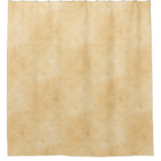 Old Parchment Background Stained Mottled Look Shower Curtain