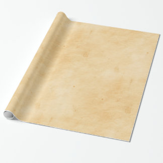 Old Parchment Background Stained Mottled Look Wrapping Paper