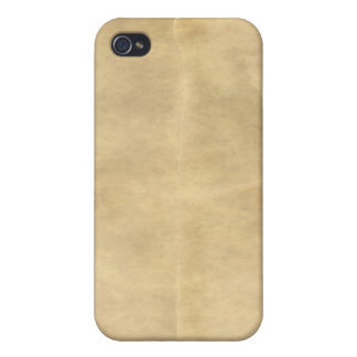 old parchment iPhone 4/4S cover