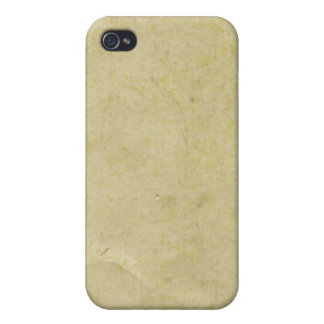 Old Parchment Paper Covers For iPhone 4