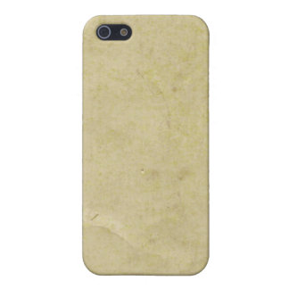Old Parchment Paper iPhone 5/5S Cases