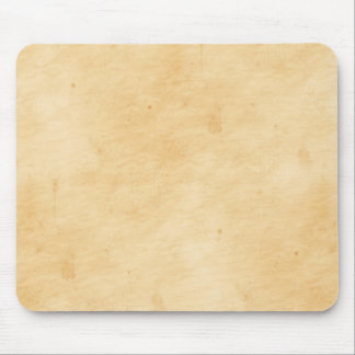 Old Parchment Stained Mottled Background Mouse Pad