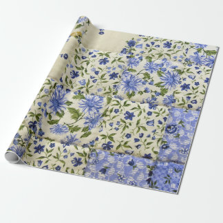 Old Patchwork Quilt Wrapping Paper
