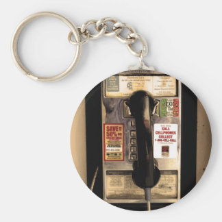 Old Pay Phone Key Chains
