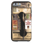 Old Pay Phone Tough iPhone 6 Case