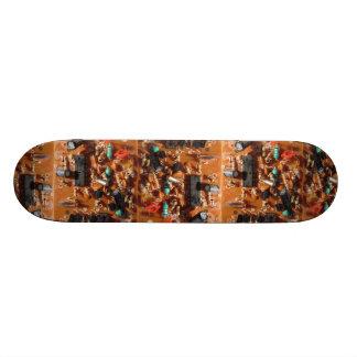 Old PC Board Custom Skateboard